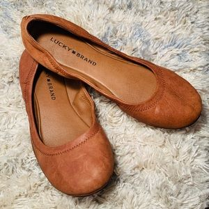 LUCKY BRAND 🍀 Leather Flats